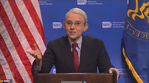SNL mocks Dr Fauci and mask confusion after the CDC said fully vaccinated Americans dont need masks