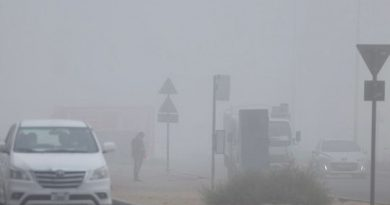 UAE: Foggy weather in Dubai and Abu Dhabi, high humidity, partly cloudy in Fujairah and Al Ain