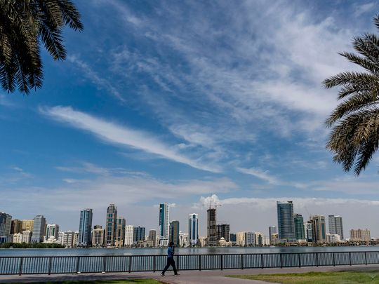 UAE weather: Warm day, dusty and partly cloudy at times in Dubai, Abu Dhabi, Sharjah and other emirates, highest temperature recorded at 47.3°C in Al Ain