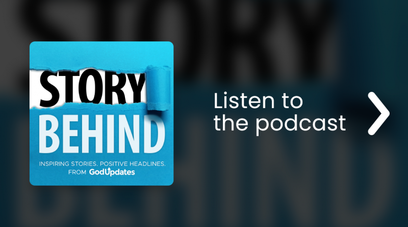"""Free Podcast: """"The Story Behind"""" Inspiring, Positive Headlines"""