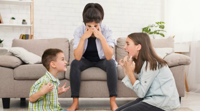 How to Stay Sane When Your Kids Are Bickering